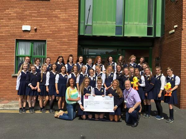 TY's Fundraised €4,500 for Crumlin Childrens Hospital