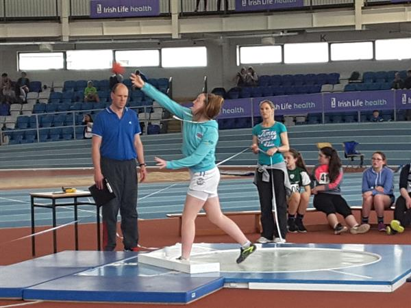 Connacht Schools Indoor Athletics