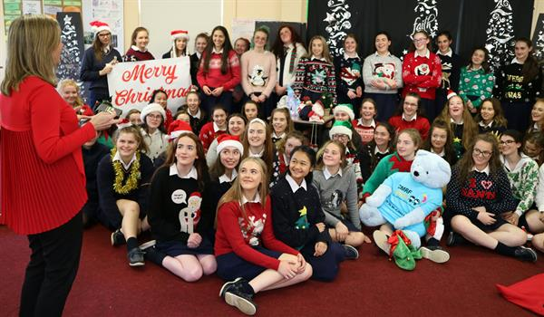 Promotional Christmas video for Crumlin!