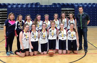 1st year Basketball Team Bronze Medal WInners