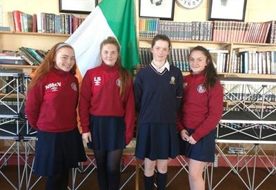 Students make the Mayo Panel for the Gaynor Cup