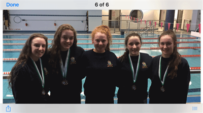 Senior Schools Swimming Competition