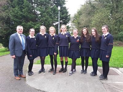 Stephen Rochford visits Saint Mary