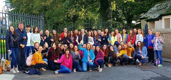 St Mary's students volunteer for Papal Mass
