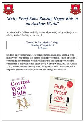 Bully-Proof Kids: Raising Happy Kids in an Anxious World