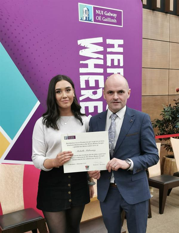NUIG Scholarship for Michelle