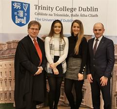 Trinity Scholarships for Amy & Sophie