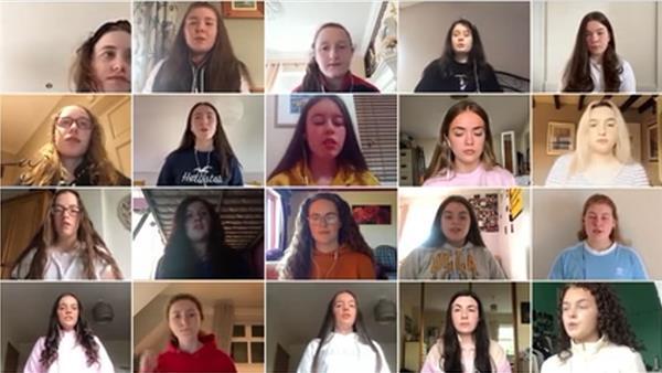 School Choir virtual performance of Africa's 'Toto' during lockdown