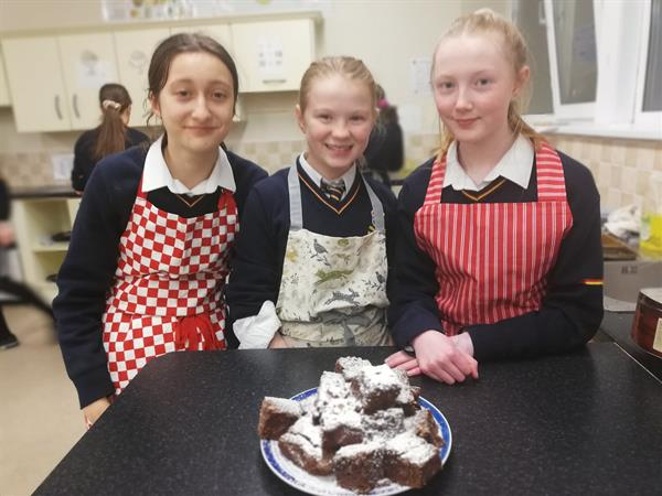 1st year Bake Club