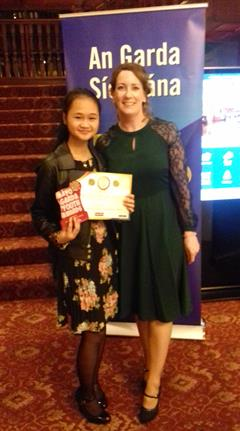 Wah Ku Say receives Garda Youth Award