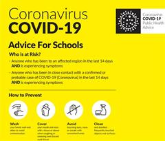 HSE advice on Coronavirus / Covid-19