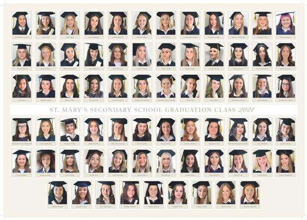 Congratulations and Best Wishes to the Class of 2021