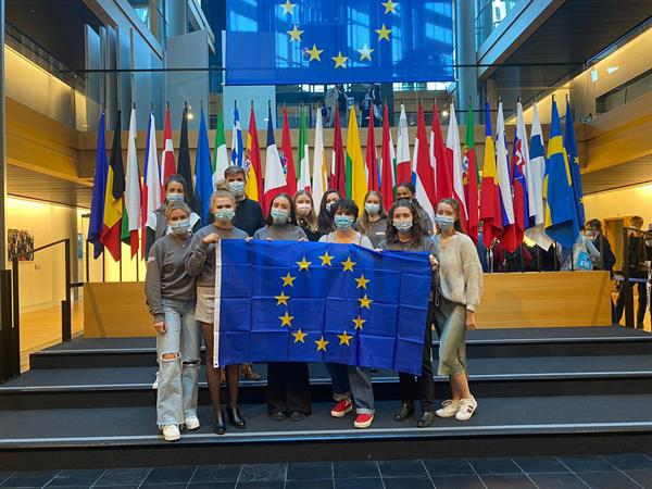 Georgia attends the European Youth Event at the European Parliament